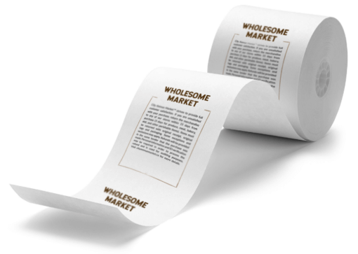 Echo paper receipt